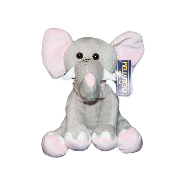 """6.5"""" Plush Elephant"""