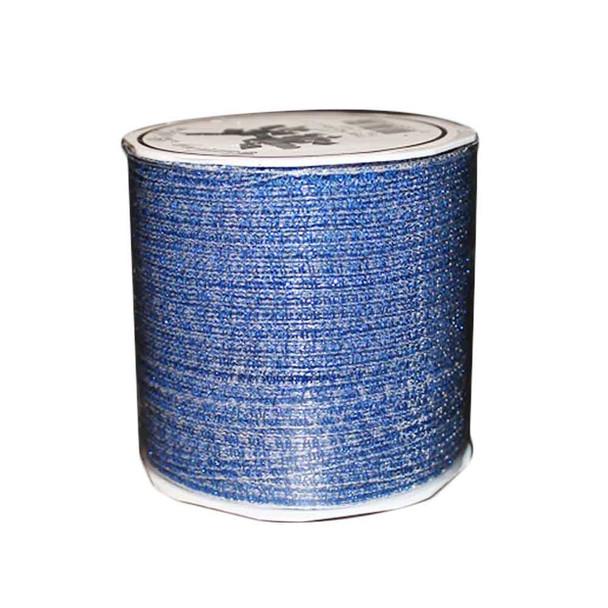 "3/16"" Royal Blue Glittered Curling Ribbon"