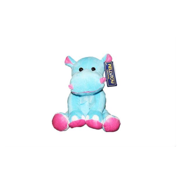 "6.5"" Plush Hippo"