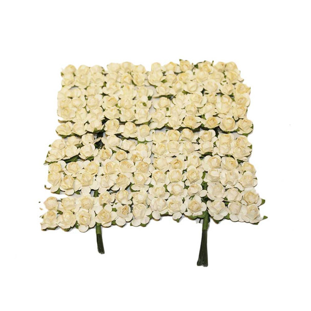 Ivory Paper Flowers