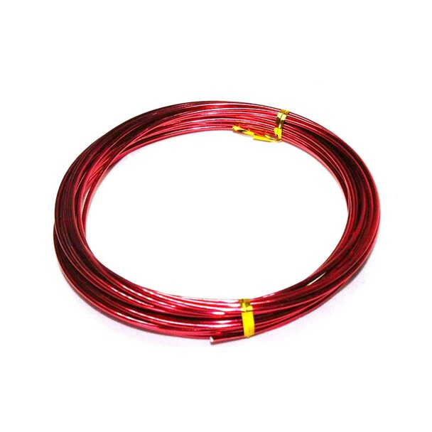 12 Gauge Red Decorative Wire 39 Ft