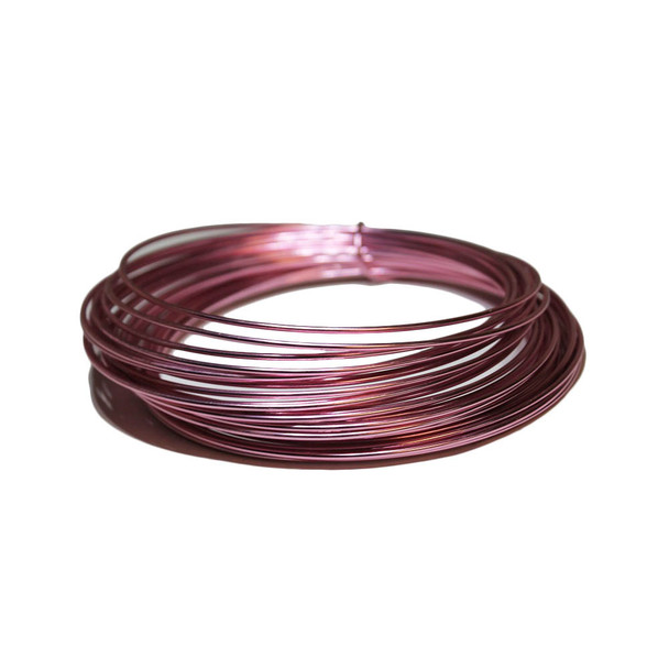12 Gauge Pink Decorative Wire 39 Ft