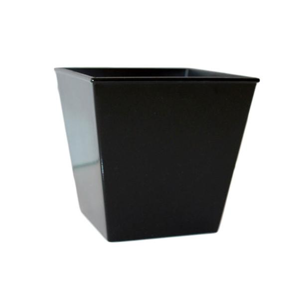 """5"""" Black Flower Pot"""