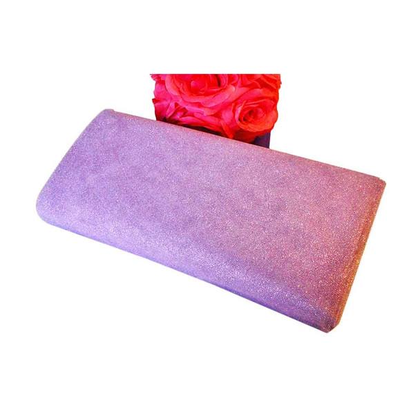 """54"""" Lavender Glittered Tulle"""