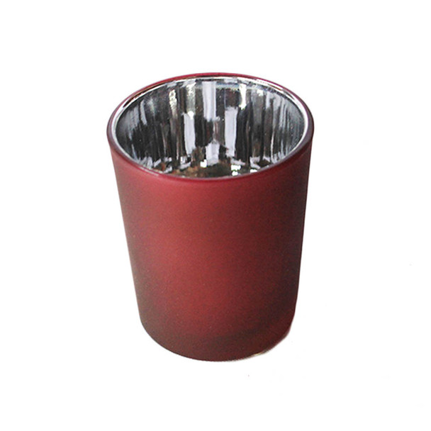 "2 .5 ""  Red Votive Candle Holder"