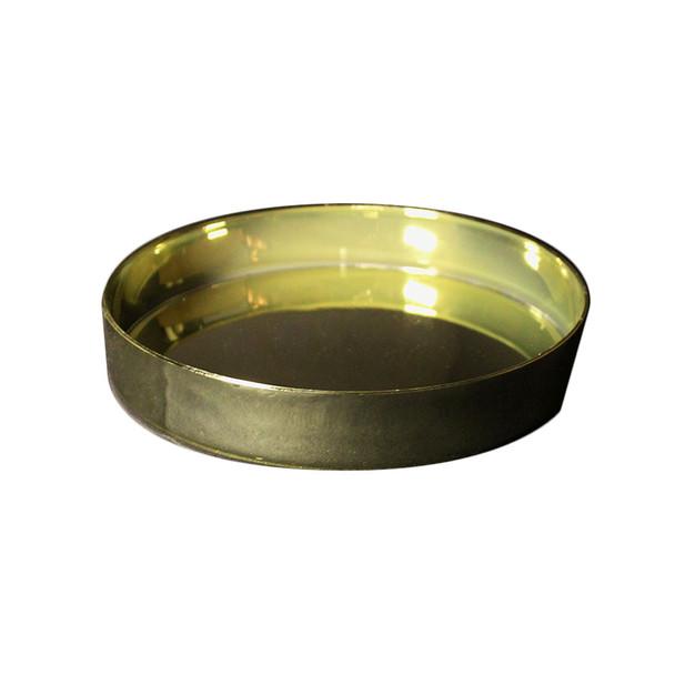 "8 1/2"" Gold Designer Tray"