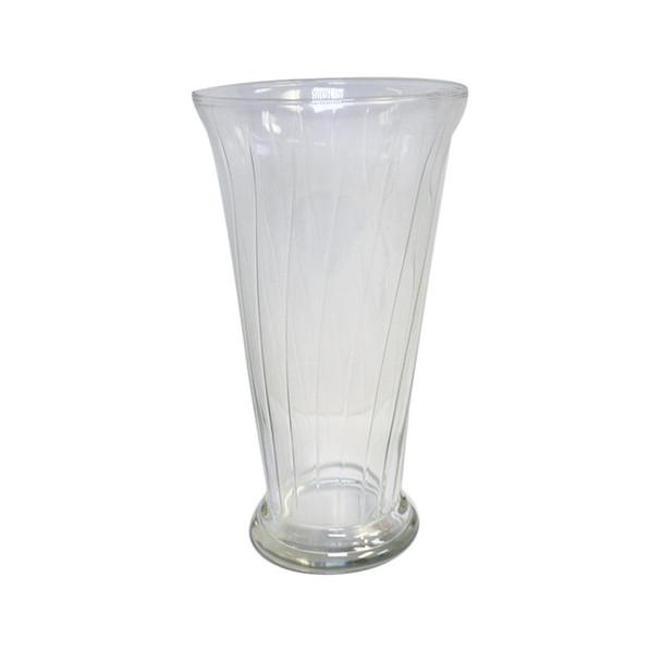 "10.5""H Romanesque Glass Vase"