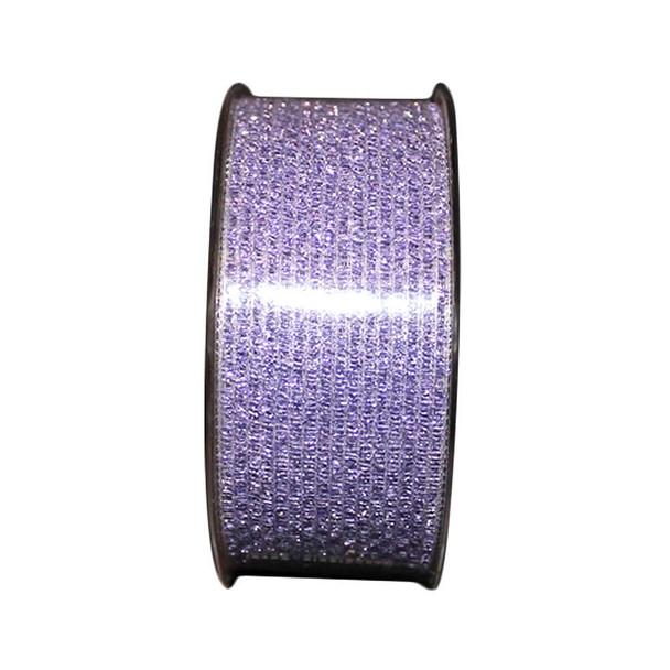 "1.5"" Lavender Glittered Curling Ribbon"