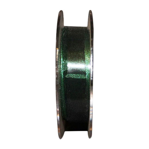 "5/8"" Green Metallic Sheer Ribbon"