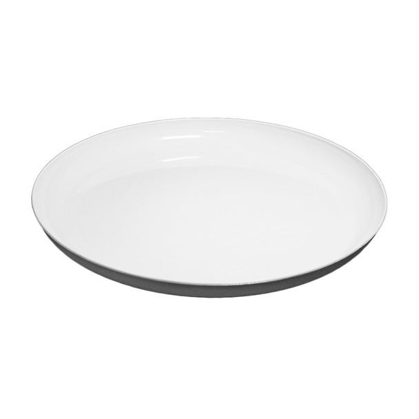 """15""""  White Lomey Designer Dish"""