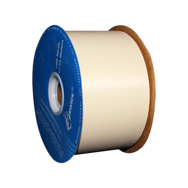 "2 3/4"" Ivory Polyprolyene Ribbon"