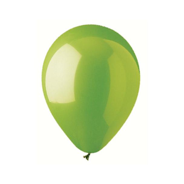 "12"" Standard Lime Green Balloons"