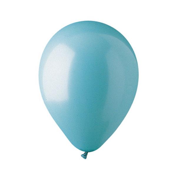 """12"""" Standard Aqua Balloons"""