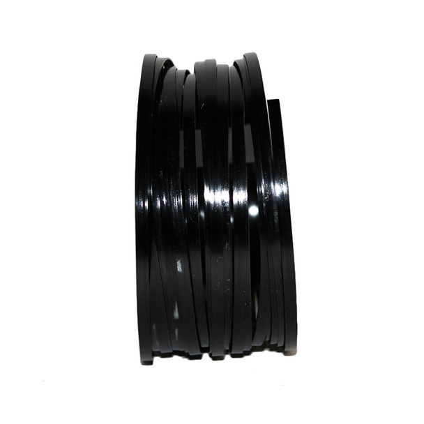 5 MM Gauge Black Flat Decorative Wire 29.5 Ft