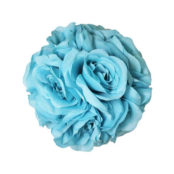 "7.0"" Turquoise Flower Ball"
