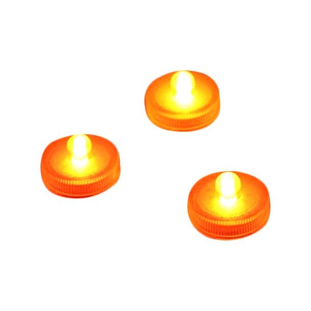 Orange Submersible LED light
