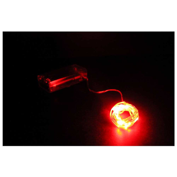 Red Submersible String LED Light