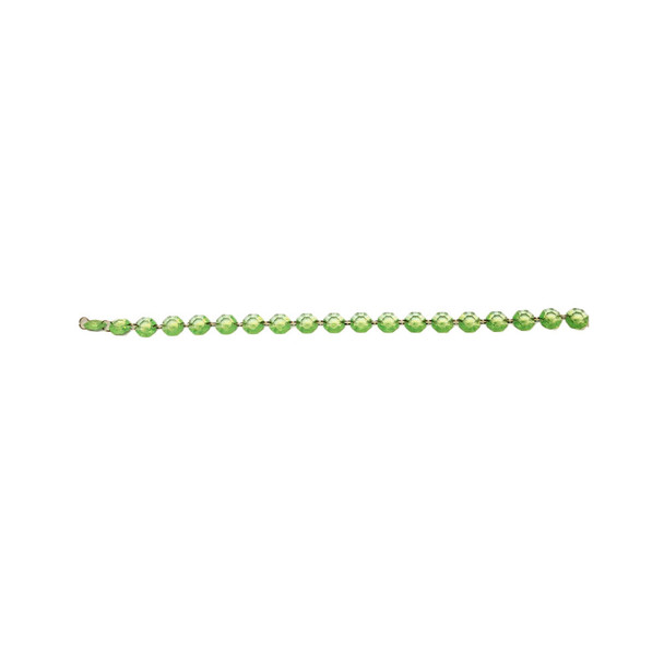 "18"" Green Bead Chain Garland"