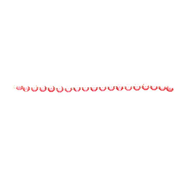 "18"" Fuchsia Bead Chain Garland"