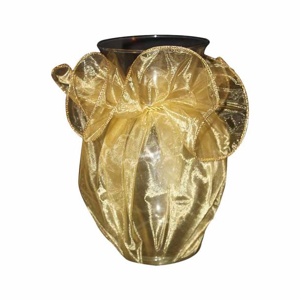 "28"" Gold Organza Wrapper"
