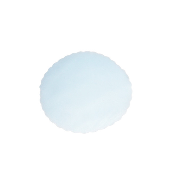 "9"" Light Blue Tulle Circle"