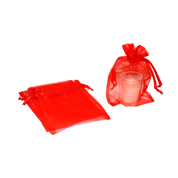 "5"" Red Organza Pouch"