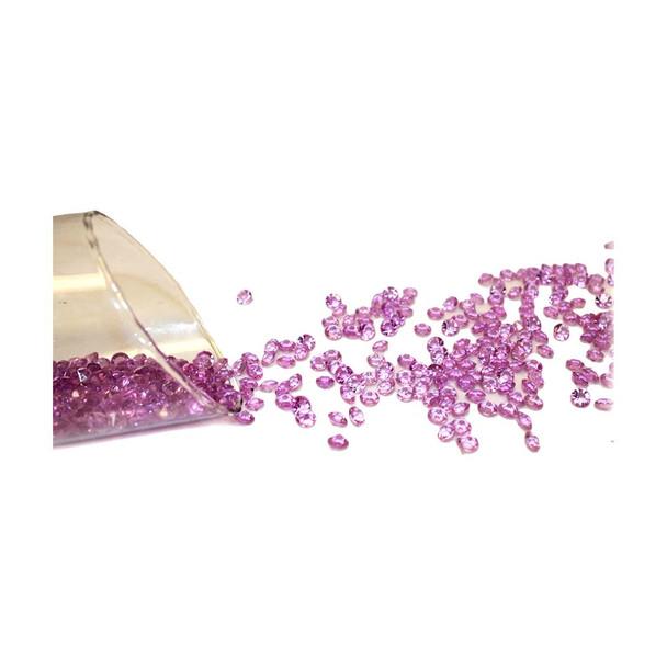 8mm Lavender Flat Diamonds