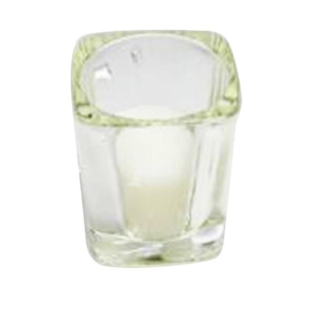 "2.5""  Glass Square Votive Candle Holder"