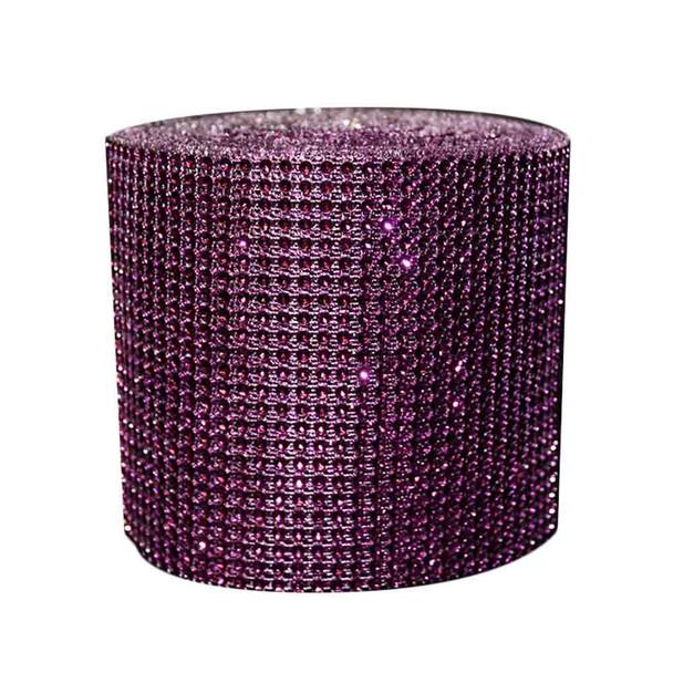 "5"" x 10Yd Purple Diamond Roll"