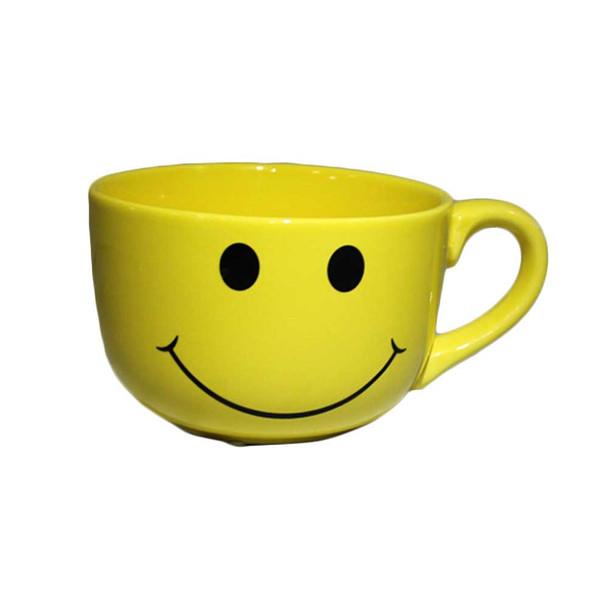 Happy Face Ceramic Mug