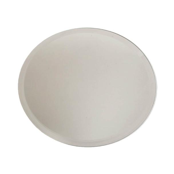 """10"""" Round Beveled Mirror Plate"""