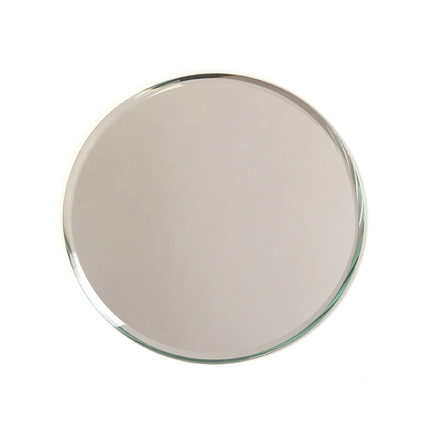 """14"""" Round Beveled Mirror Plate"""