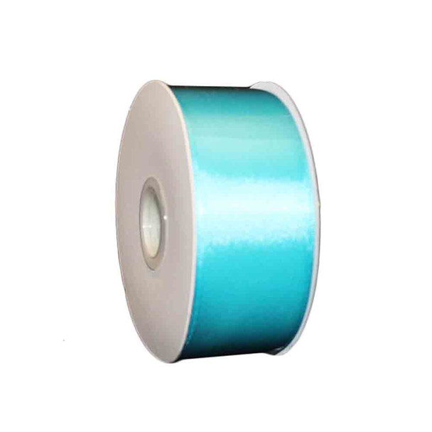 "1.5"" Turquoise Double Face Satin Ribbon"