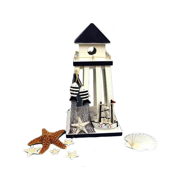 "13"" Lighthouse Lantern"