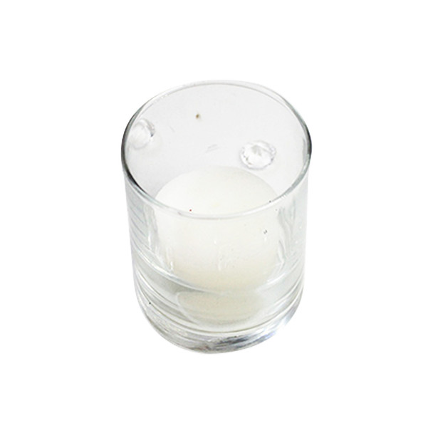 "2.5""  Glass Votive Candle Holder"