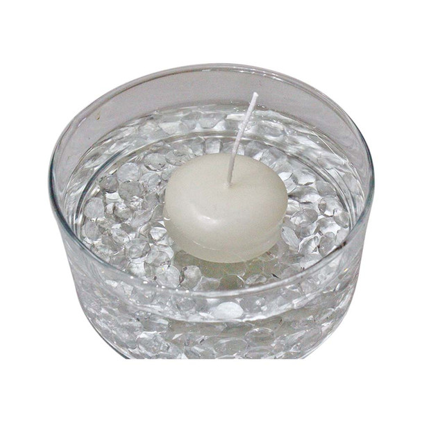 "2"" Ivory Floating Candle"