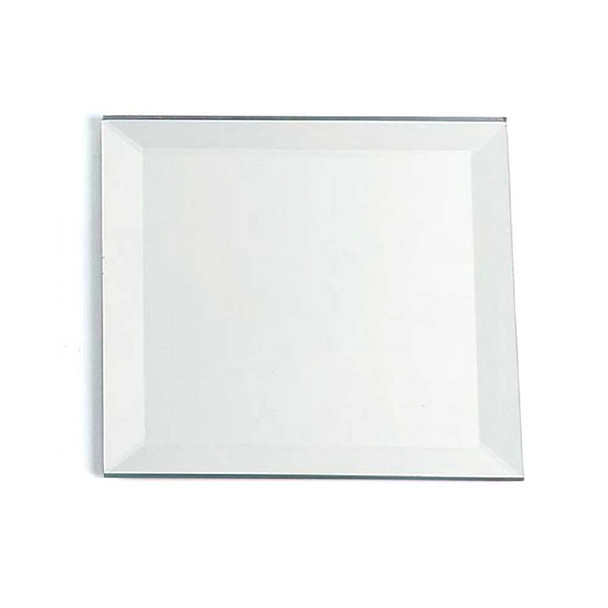 """18"""" Square Beveled Mirror Plate"""