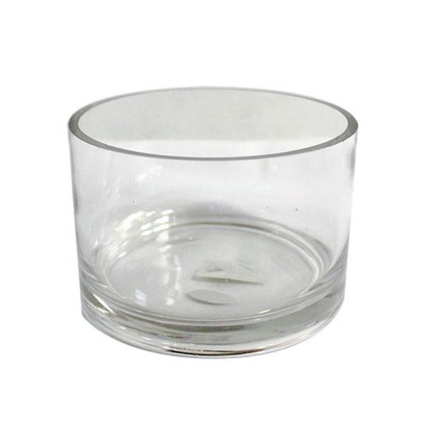 """4""""H x 6""""O Glass Cylinder Vase"""