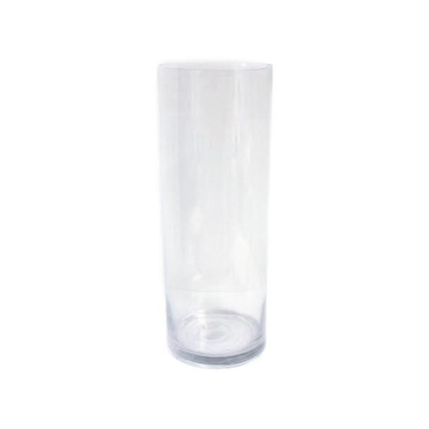 """14""""H  Glass Cylinder Vase"""