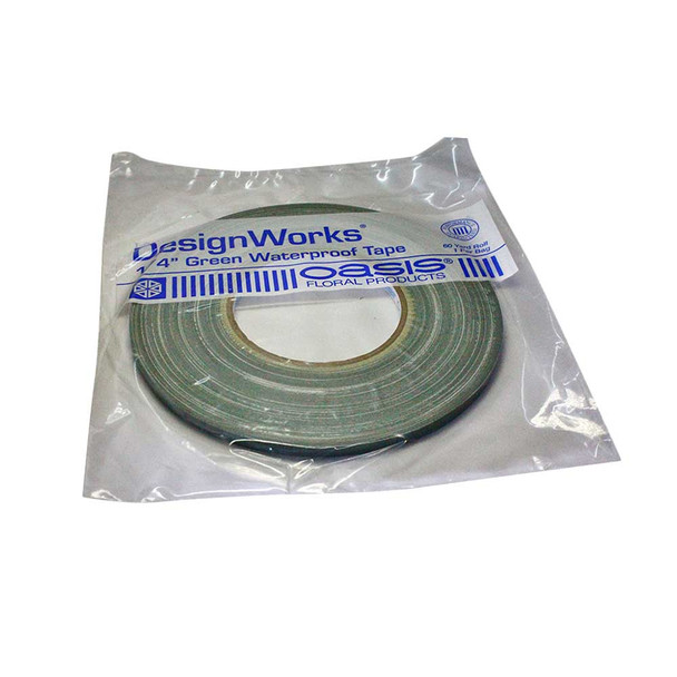 "1/4"" Green Waterproof Tape"
