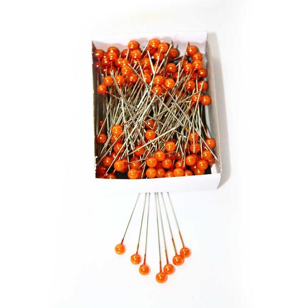 """2"""" Orange Corsage Pins"""