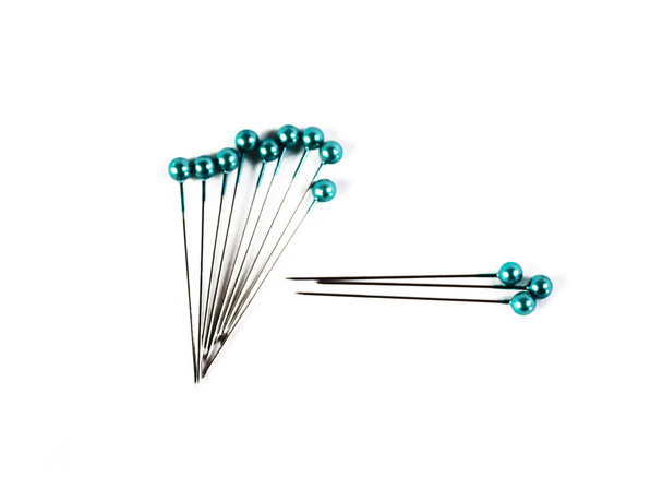 """2"""" Turquoise Corsage Pins"""