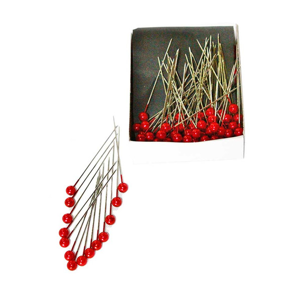 """2"""" Red Corsage Pins"""