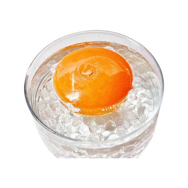 """3"""" Orange Floating Candle"""