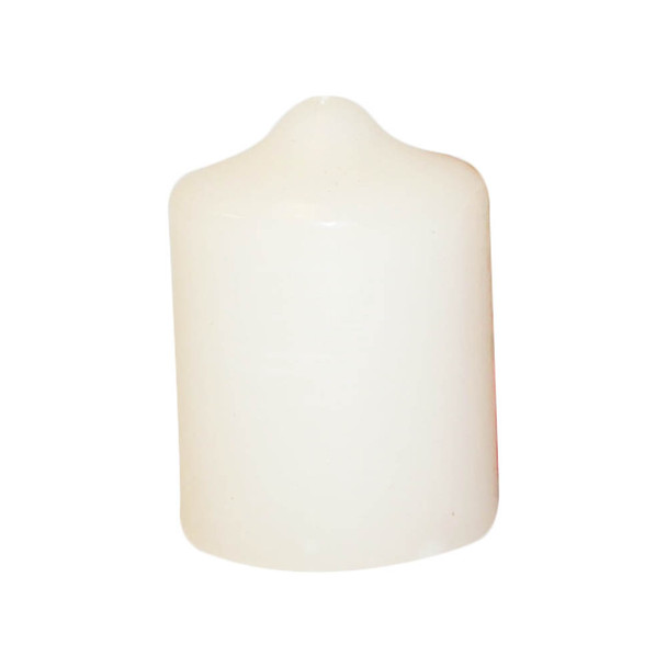 "2"" x 3"" Ivory Pillar Candle"
