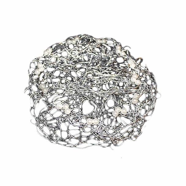 """8"""" Silver Wire Collar"""