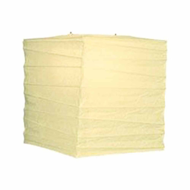 """10"""" Ivory Rectangular Paper Lantern"""