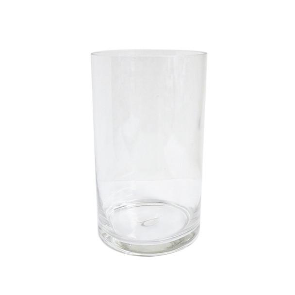 """10"""" H Glass Cylinder Vase"""