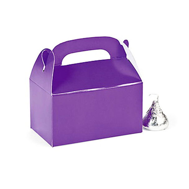 "3"" Purple Rectangular Treat Boxes"