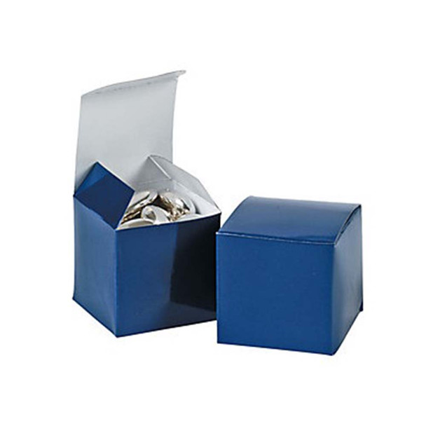 "2"" Navy Blue Gift Boxes"